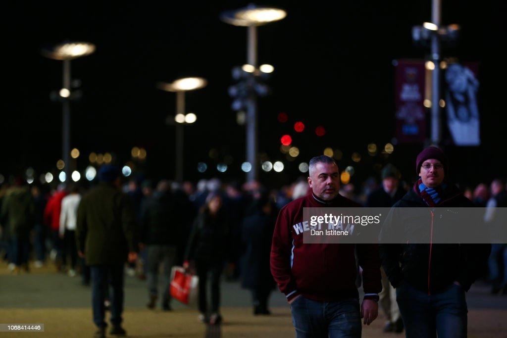West Ham United v Cardiff City - Premier League : News Photo