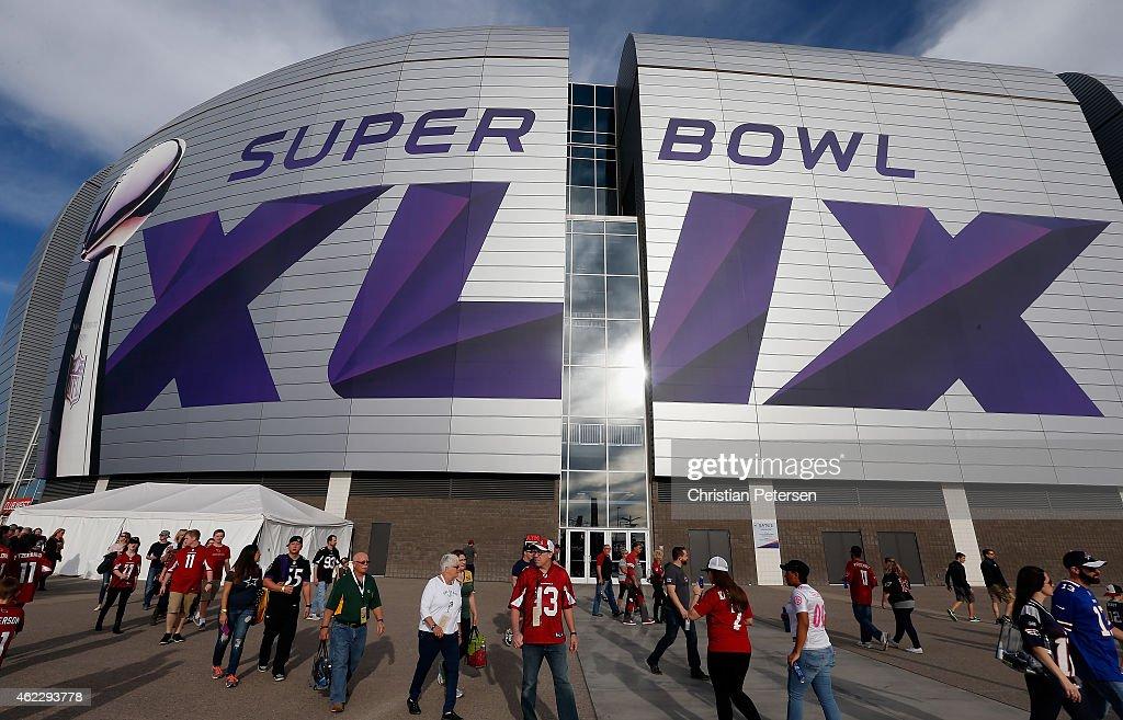 Super Bowl XLIX - Preview : News Photo