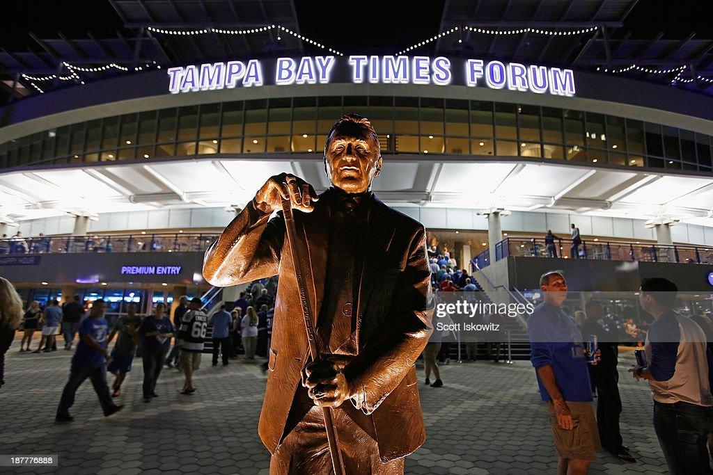 Edmonton Oilers v Tampa Bay Lightning : News Photo