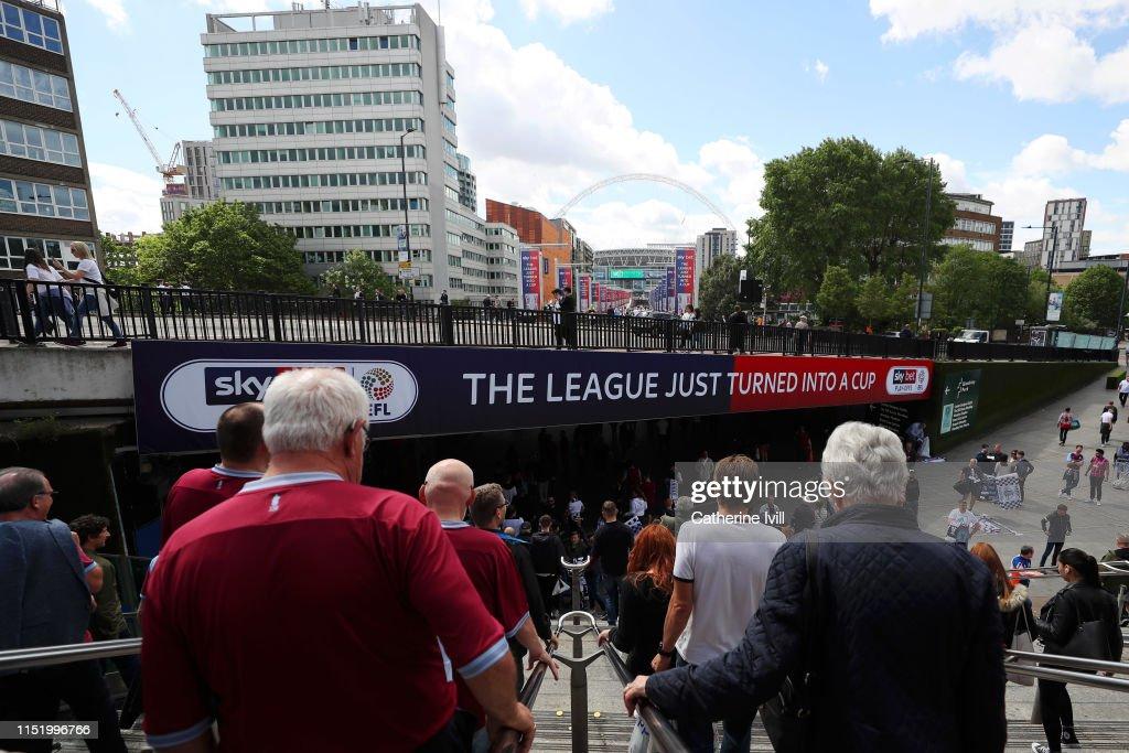 GBR: Aston Villa v Derby County - Sky Bet Championship Play-off Final