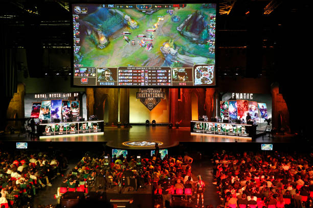 eSport Tournament : League of Legends At Le Zenith In Paris