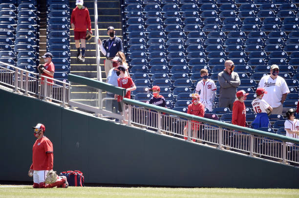 DC: Philadelphia Phillies v Washington Nationals
