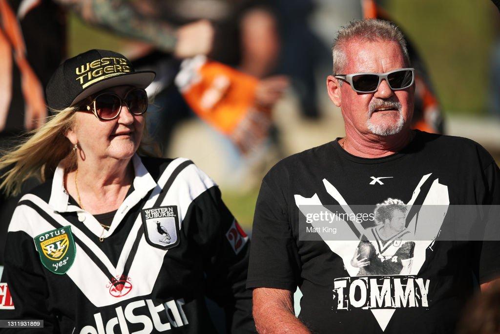 NRL Rd 5 - Wests Tigers v Cowboys : Nachrichtenfoto