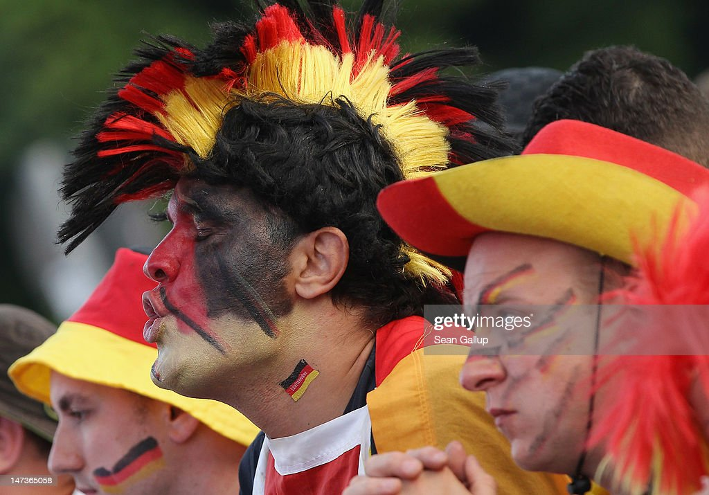 Germany v Italy - Public Viewing: UEFA EURO 2012 : News Photo