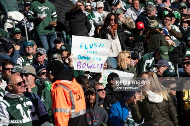Fans were calling for New York Jets Head Coach Todd Bowles to be fired during the second quarter of the Buffalo Bills versus the New York Jets game...