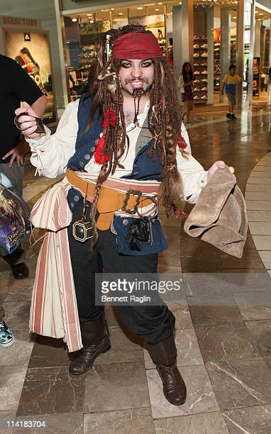 """Fans were on hand at the Hot Topic store to help celebrate """"Pirates Day"""", a fun-filled celebration of all things """"Pirates,"""" in advance of the release..."""