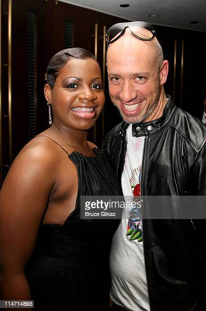 Fantasia Barrino and Robert Verde during 61st Annual Tony Awards Backstage at Radio City Music Hall in New York City New York United States