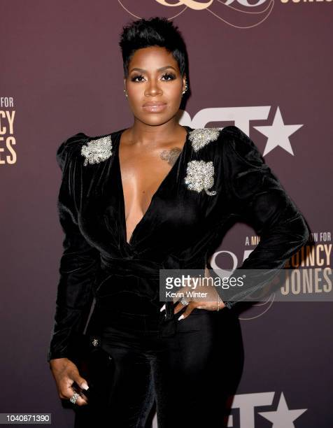 Fantasia Barrino at Q85 A Musical Celebration for Quincy Jones at the Microsoft Theatre on September 25 2018 in Los Angeles California