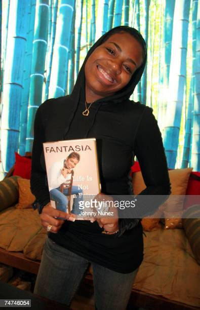 Fantasia Barrino at the Carols Daughter Harlem Flagship Store in New York New York