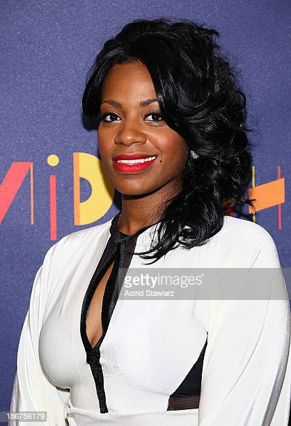 Fantasia Barrino attends 'After Midnight' Broadway Opening Night After Party at Copacabana on November 3 2013 in New York City