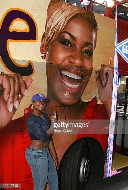 Fantasia Barrino during Fantasia and the Cast of 'The Color Purple' Celebrate the One Millionth Audience Member Curtain Call at Broadway Theater in...
