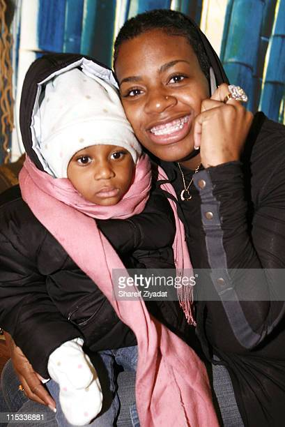 Fantasia Barrino during Fantasia Barrino Signs Her Book Life is Not a Fairy Tale at Carols Daughter in New York City December 16 2005 at Carols...