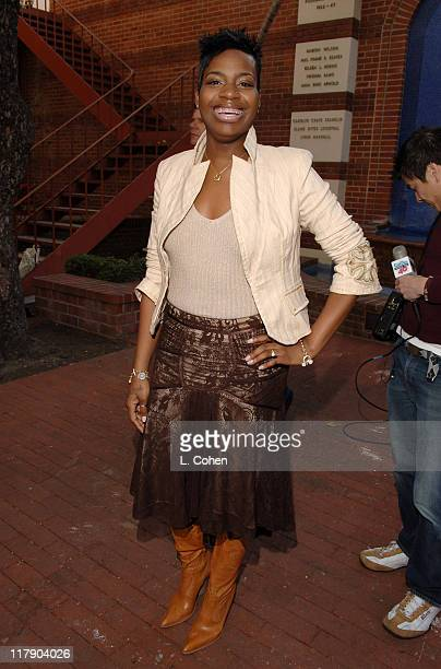 Fantasia Barrino during National GRAMMY Career Day Los Angeles at USC in Los Angeles California United States