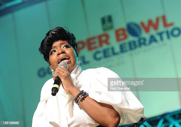 Fantasia Barrino performs during the Super Bowl Gospel Celebration 2012 at Clowes Memorial Hall of Butler University on February 3 2012 in...