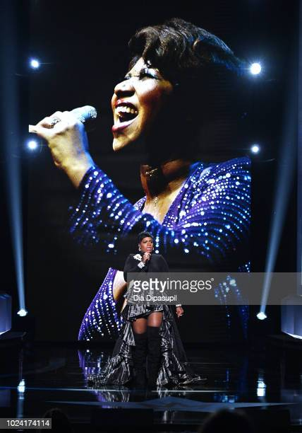 Fantasia Barrino performs onstage during the Black Girls Rock 2018 Show at NJPAC on August 26 2018 in Newark New Jersey