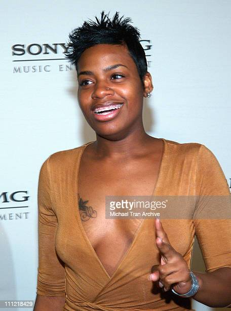 Fantasia during 2006 Sony/BMG GRAMMY After Party at Roosevelt Hotel in Hollywood California United States