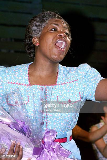 Fantasia During Makes Her Broadway Debut In The Color Purple Curtain Call At Theatre
