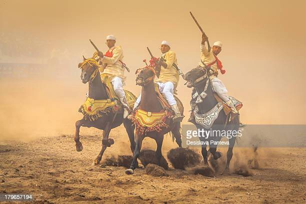 """Fantasia is a spectacle of traditional Moroccan folklore also known as """"Game of powder"""". It''s a unique event which usually takes places in various..."""