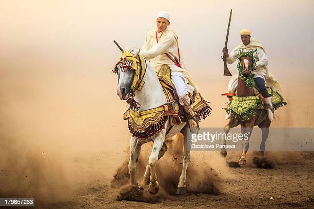 """Fantasia is a spectacle of traditional Moroccan folklore also known as """"Game of powder"""". It's a unique event which usually takes places in various..."""