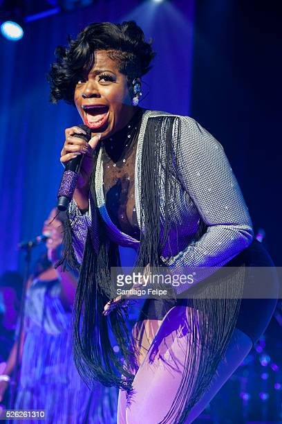Fantasia performs onstage at The Theater at Madison Square Garden on April 29 2016 in New York City