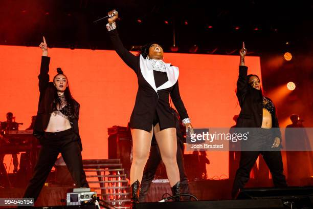 Fantasia performs onstage during the 2018 Essence Festival at the MercedesBenz Superdome on July 8 2018 in New Orleans Louisiana