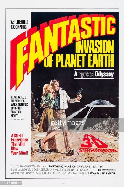 Fantastic Invasion Of Planet Earth poster from left Deborah Walley Michael Cole 1966