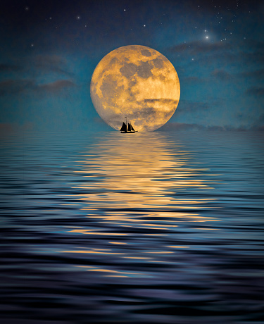 Fantastic Moonlight - gettyimageskorea
