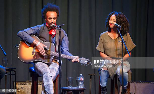 Fantastic Negrito and GRAMMY Amplifier winner Kirby Maurier perform at the GRAMMY Pro Songwriters Summit at The Uptown on May 12 2016 in Oakland...