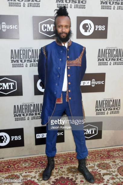 Fantastic Negrito attends the 2018 Americana Music Honors and Awards at Ryman Auditorium on September 12 2018 in Nashville Tennessee