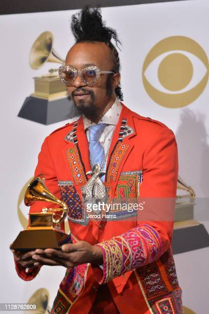 Fantastic Negrito attends the 61st Annual GRAMMY Awards Press Room at Staples Center on February 10 2019 in Los Angeles California