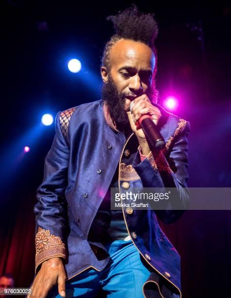 Fantastic Negrito performs at The Fillmore on June 15 2018 in San Francisco California