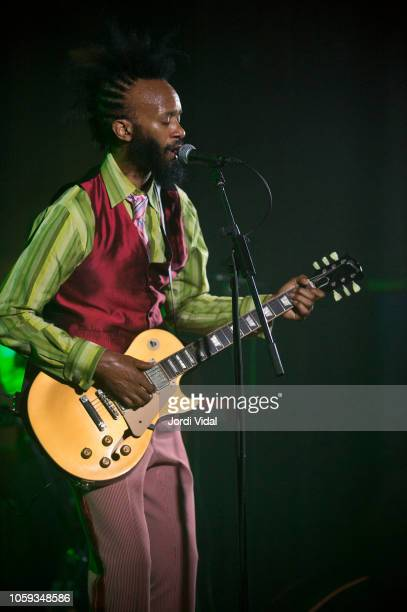Fantastic Negrito performs on stage at Sala Apolo on November 8 2018 in Barcelona Spain