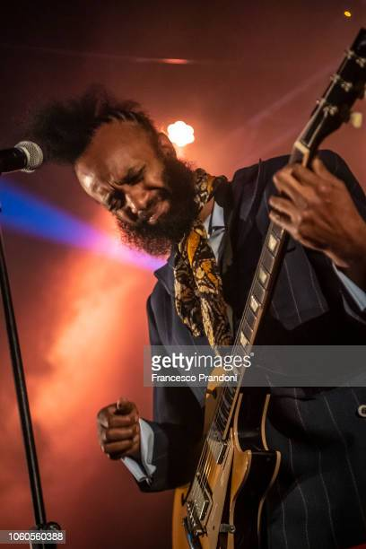 Fantastic Negrito performs on stage at Santeria Social Club on November 11 2018 in Milan Italy
