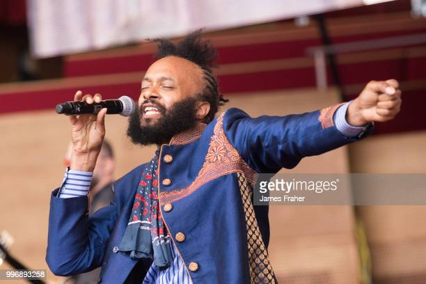 Fantastic Negrito performs on stage at The Chicago Blues Festival on June 10 2018 in Chicago Illinois United States