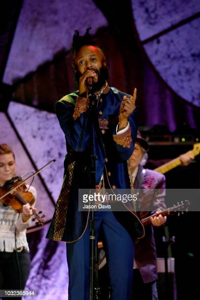 Fantastic Negrito performs onstage during the 2018 Americana Music Honors and Awards at Ryman Auditorium on September 12 2018 in Nashville Tennessee