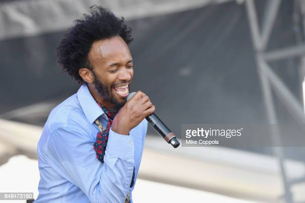 Fantastic Negrito performs onstage during the Meadows Music and Arts Festival Day 3 at Citi Field on September 17 2017 in New York City