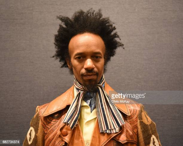 Fantastic Negrito poses for a portrait backstage before his set at Shaky Knees Music Festival at Centennial Olympic Park on May 13 2017 in Atlanta...