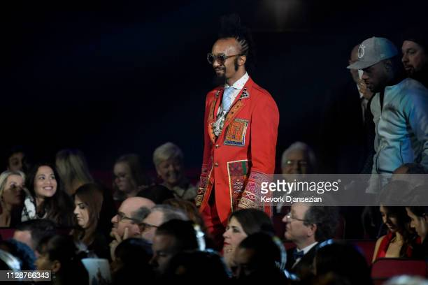 Fantastic Negrito wins Best Contemporary Blues Album at the premiere ceremony during the 61st annual GRAMMY Awards at Staples Center on February 10...