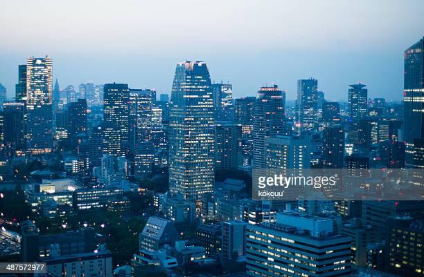 素晴らしい都会の景色
