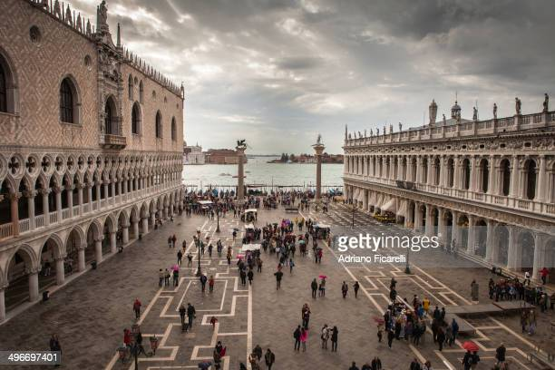 Fantastic view of Piazza San Marco.