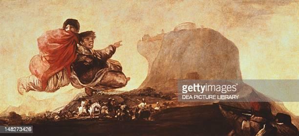 Fantastic Vision by Francisco de Goya Madrid Museo Del Prado