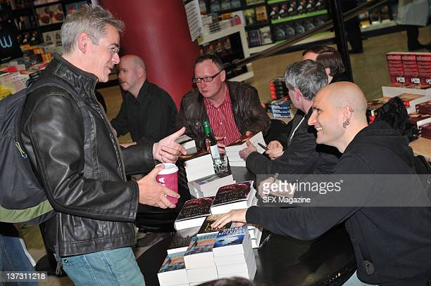 Fantasy author China Mieville at an SFX book signing event on May 10 2010 in London