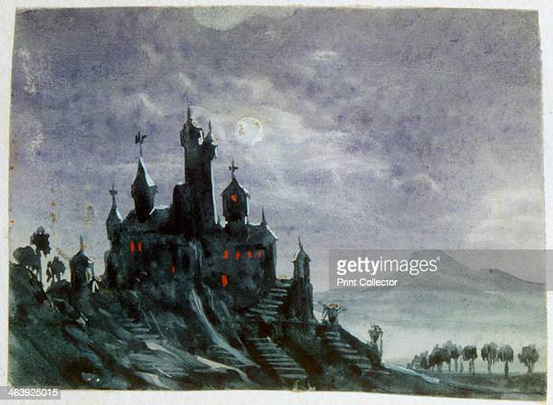 'Fantasy Castle in Moonlight I' 18201876 George Sand was the pseudonym of the French novelist and feminist AmandineLucileAurore Dupin later Baroness...