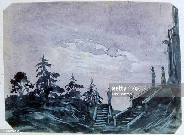 'Fantasy Castle in Moonlight II' 18201876 George Sand was the pseudonym of the French novelist and feminist AmandineLucileAurore Dupin later Baroness...