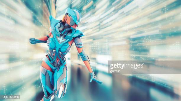 fantasy character action - warrior person stock photos and pictures
