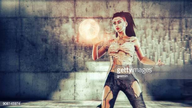 Fantasy character action
