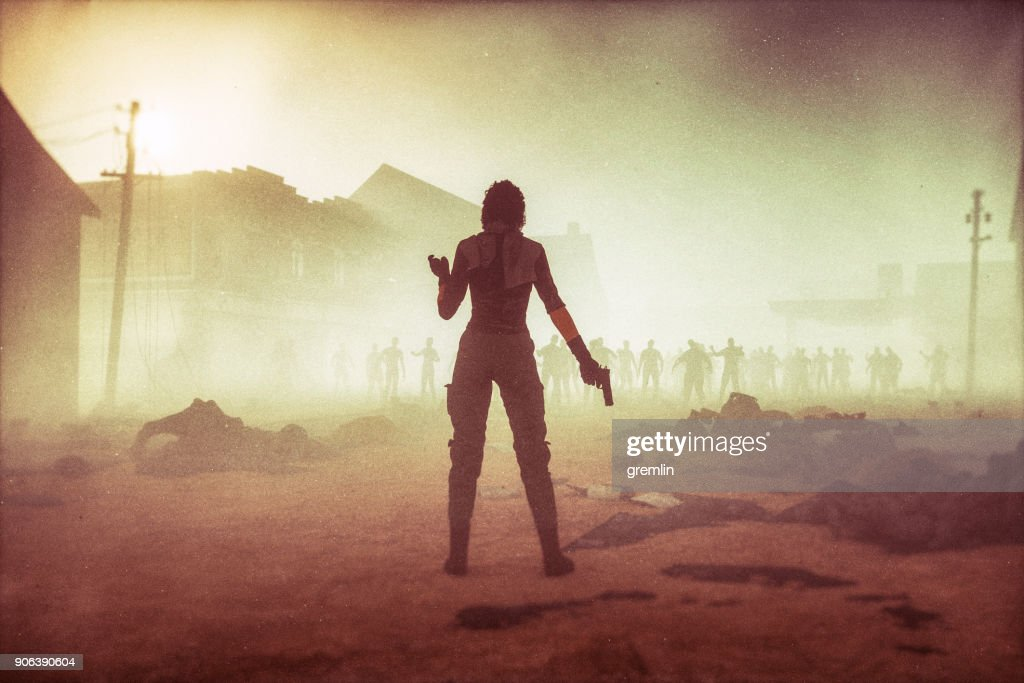 https://www.istockphoto.com/photo/fantasy-character-against-zombie-hordes-gm906390604-249833109