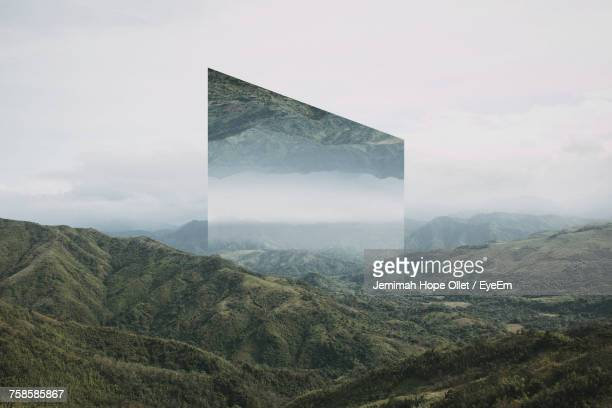 fantasy landscape in philippines - upside down stock pictures, royalty-free photos & images