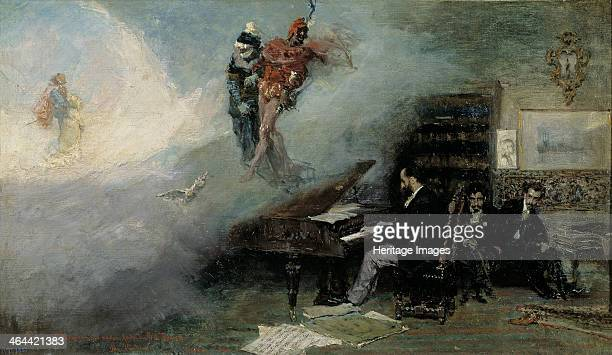 Fantasy on Faust 1866 Found in the collection of the Museo del Prado Madrid
