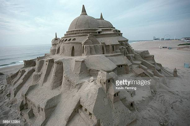 Fantasy Sandcastle on Beach